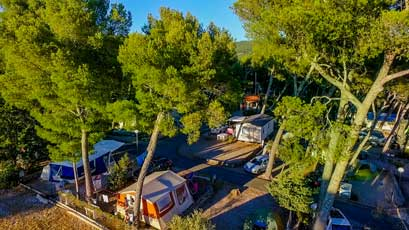 Camping a cassis