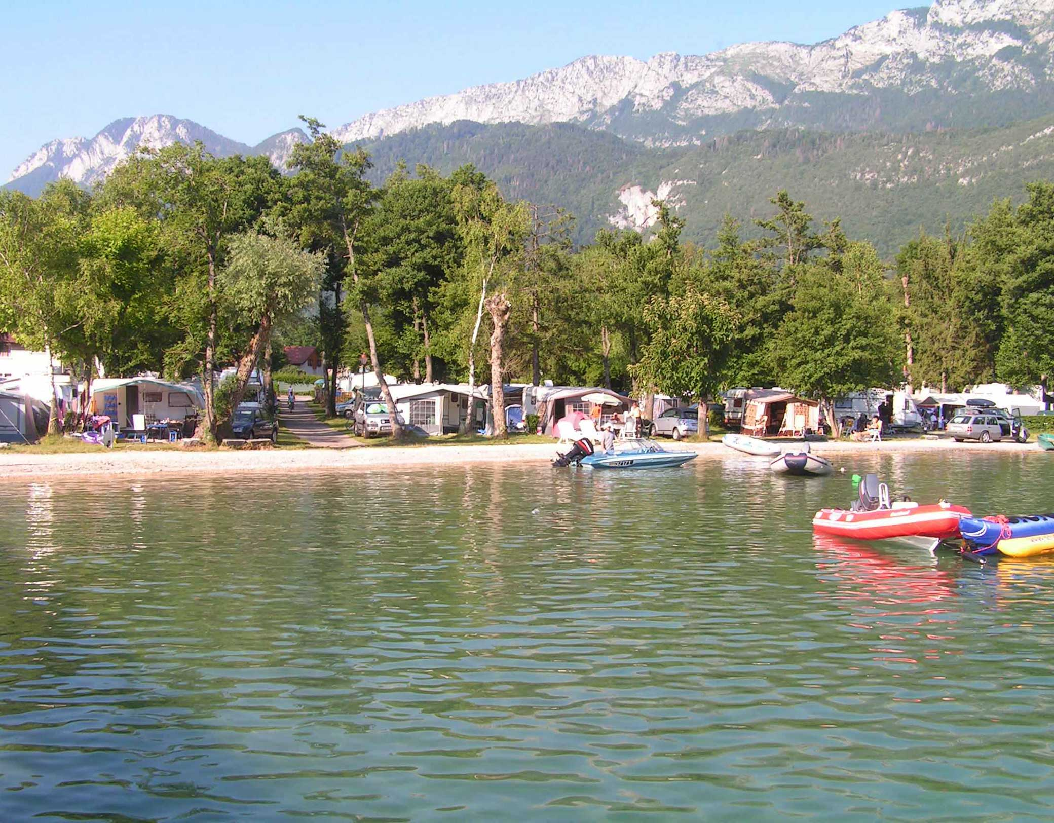 Camping le lac bleu annecy
