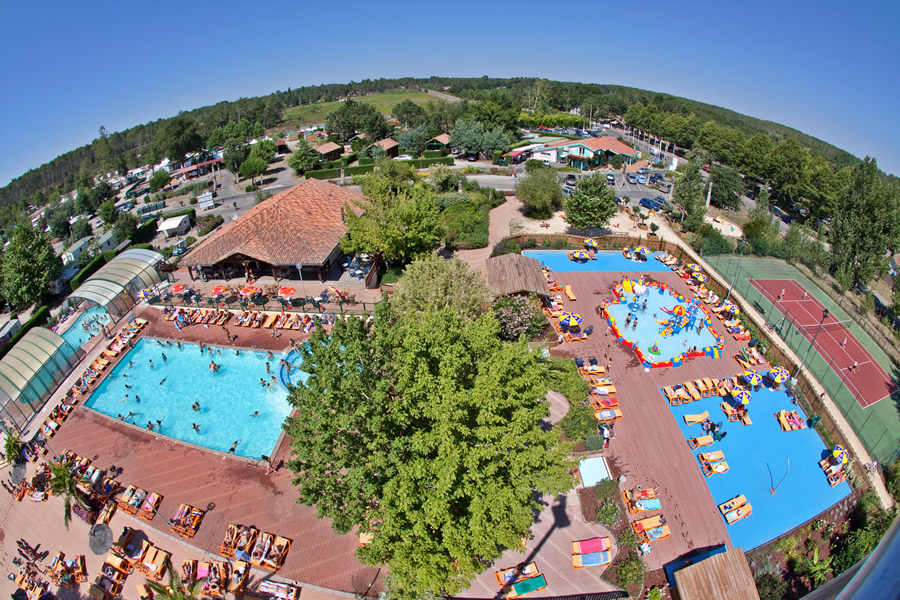 Le col vert camping
