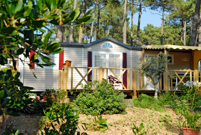 Mobilhome a vendre dans camping