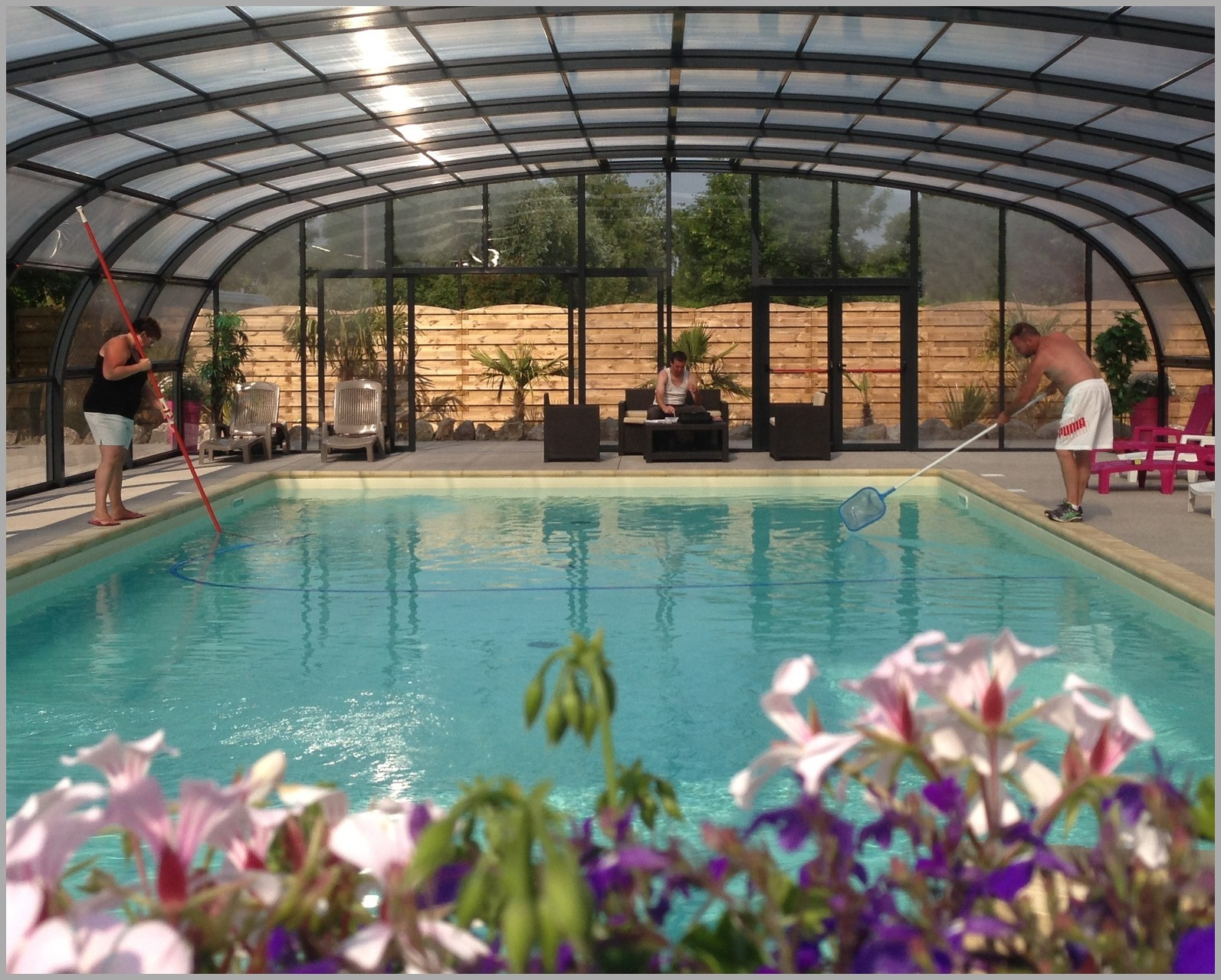 Camping baie de somme piscine couverte