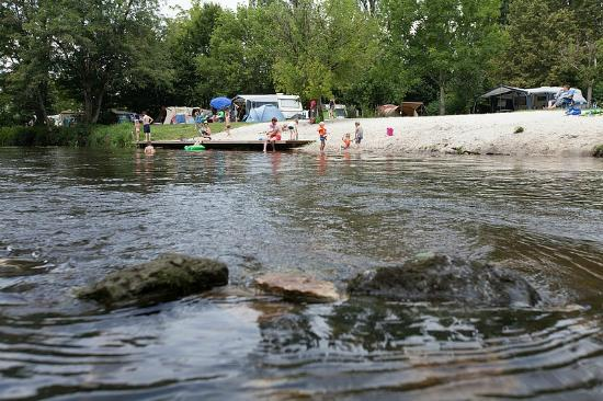Brantome camping