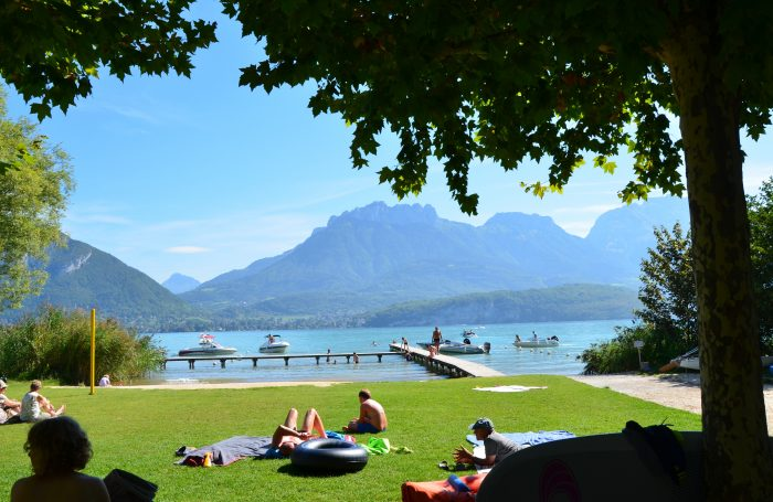 Camping savoie lac