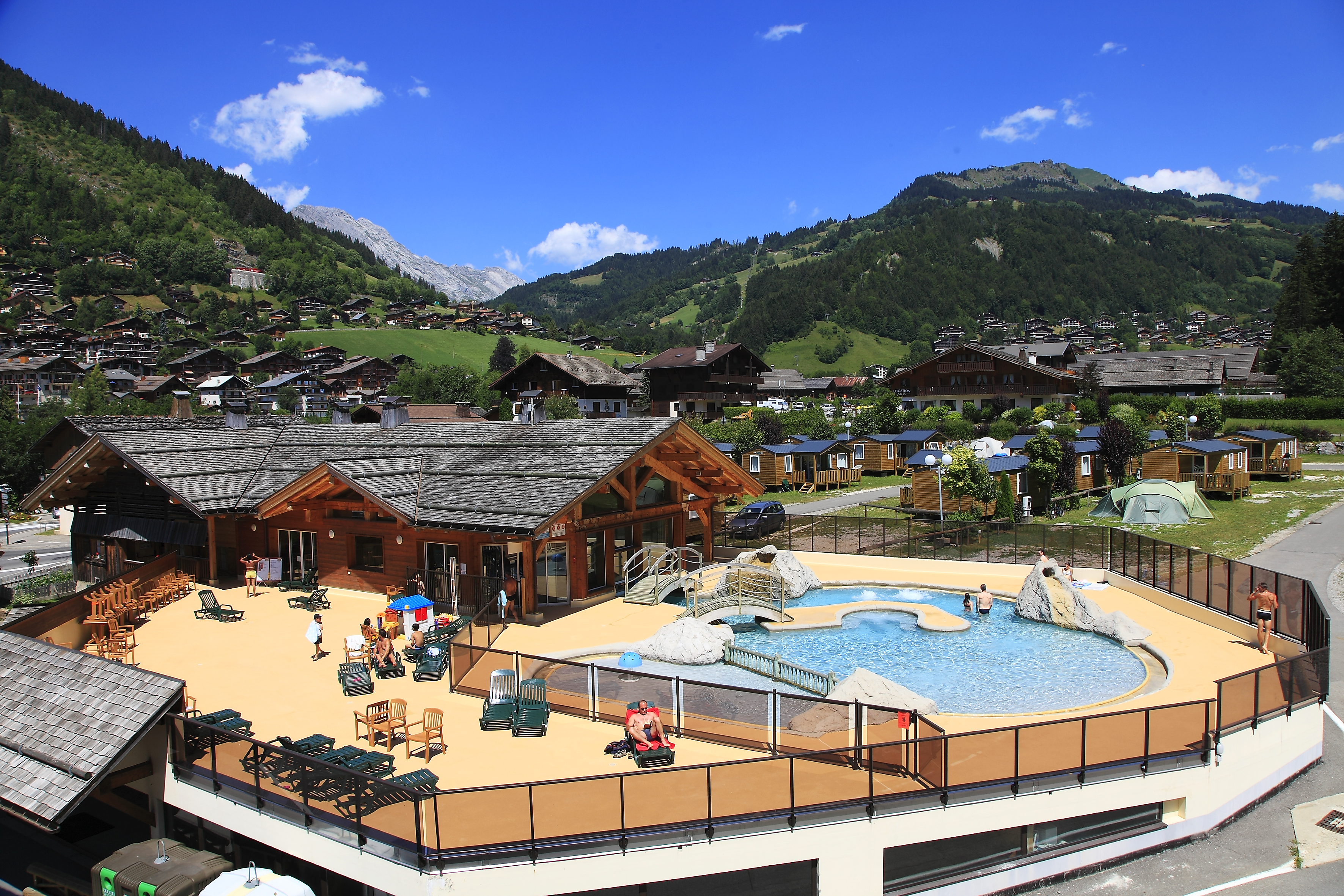 Camping montagne alpes