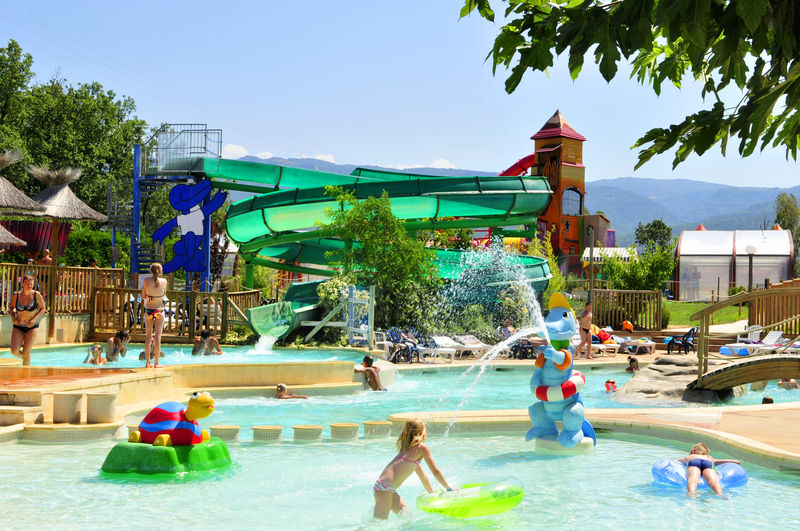 Camping tours piscine