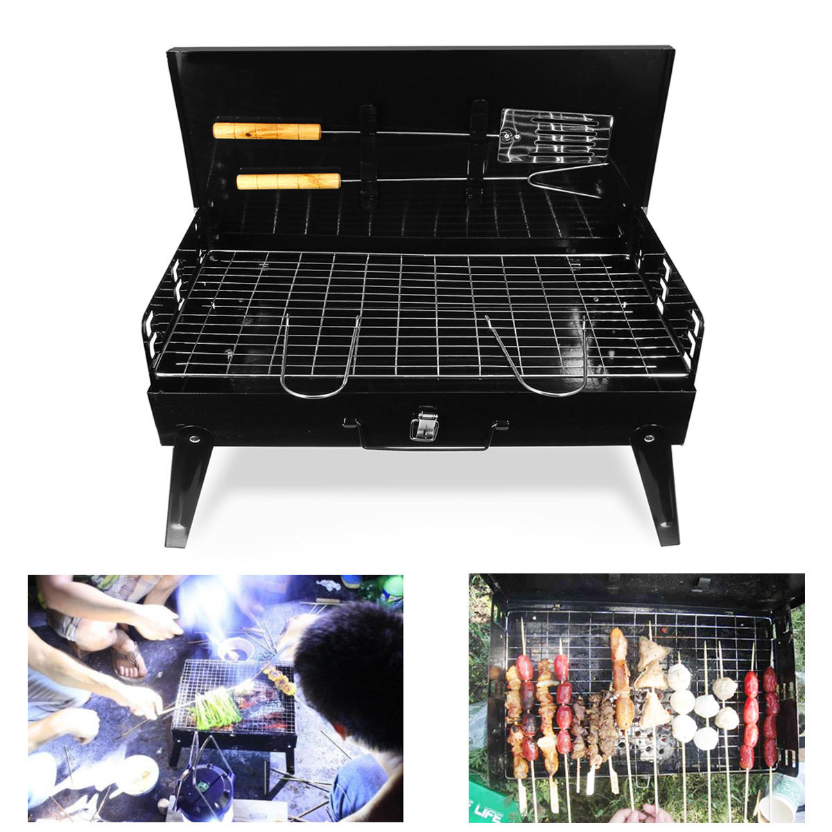 Barbecue de camping portable