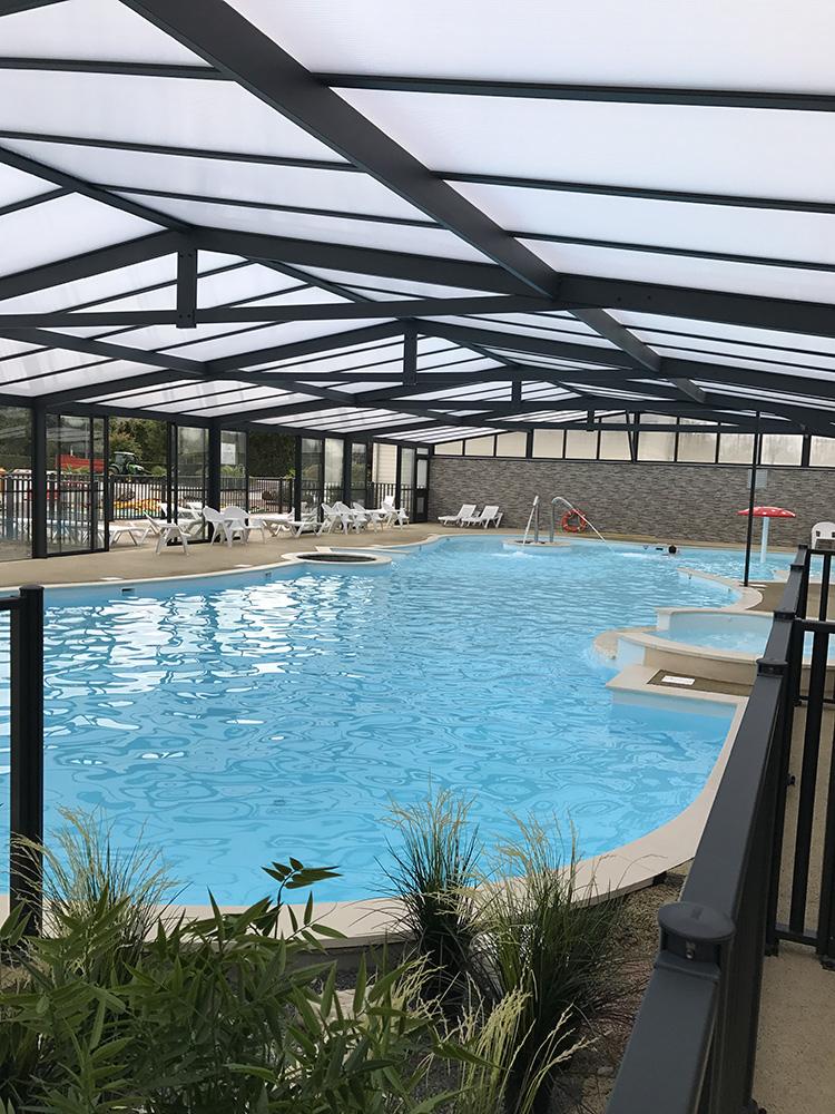 Camping deauville avec piscine