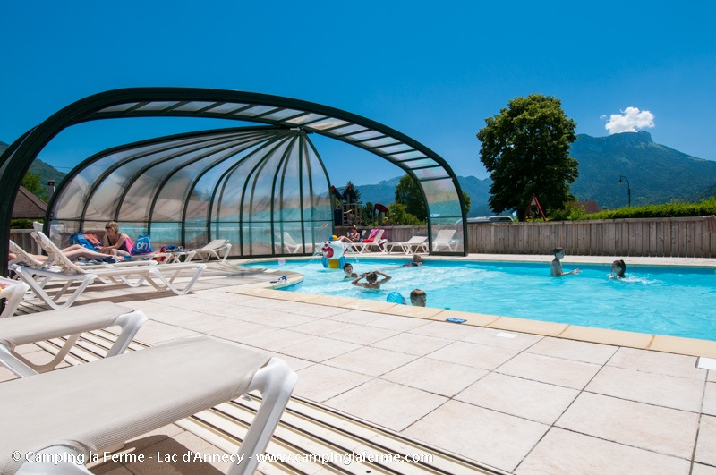Camping annecy piscine couverte