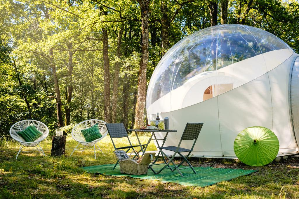 Bulle camping