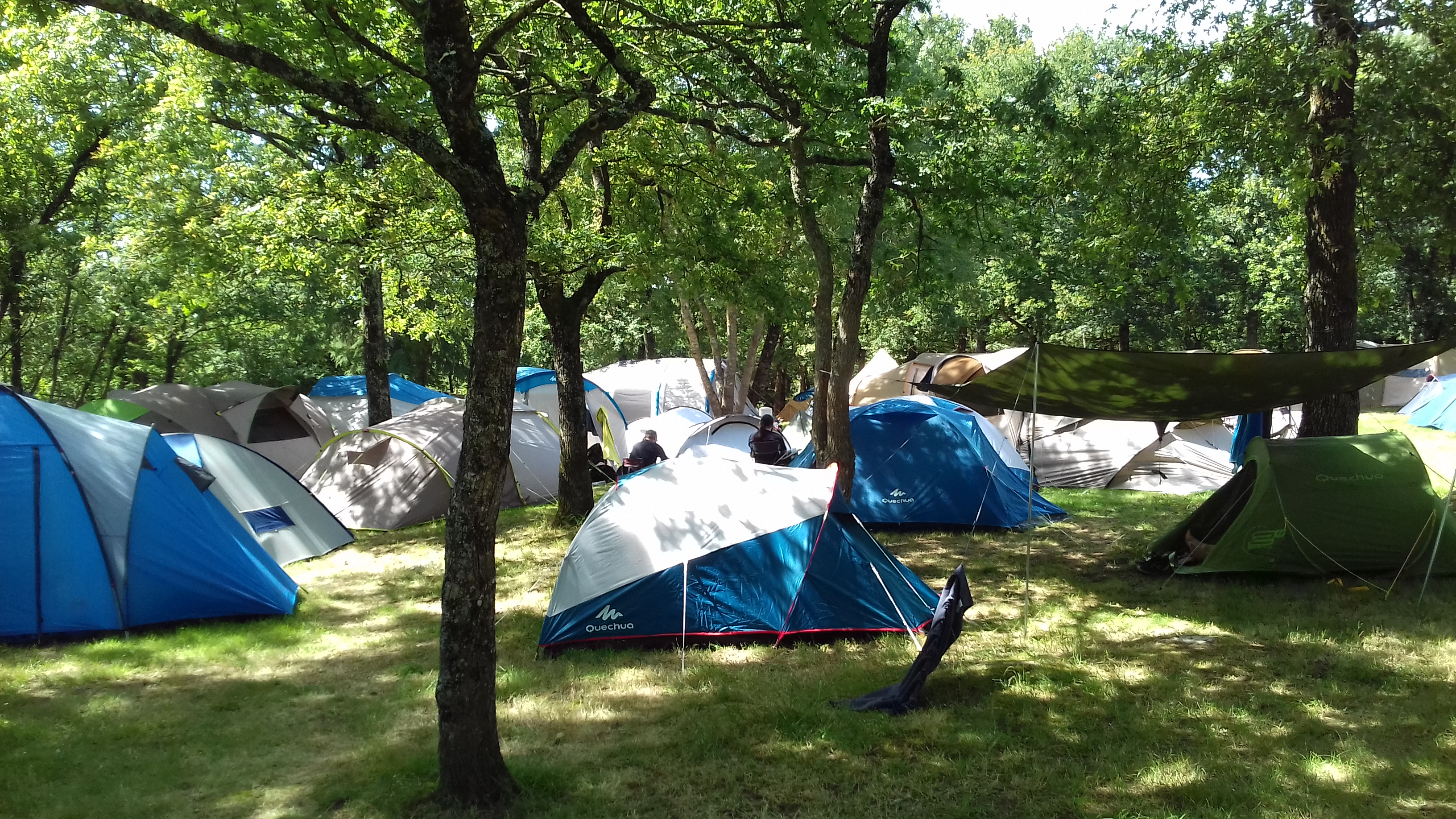 Camping hellfest 2018