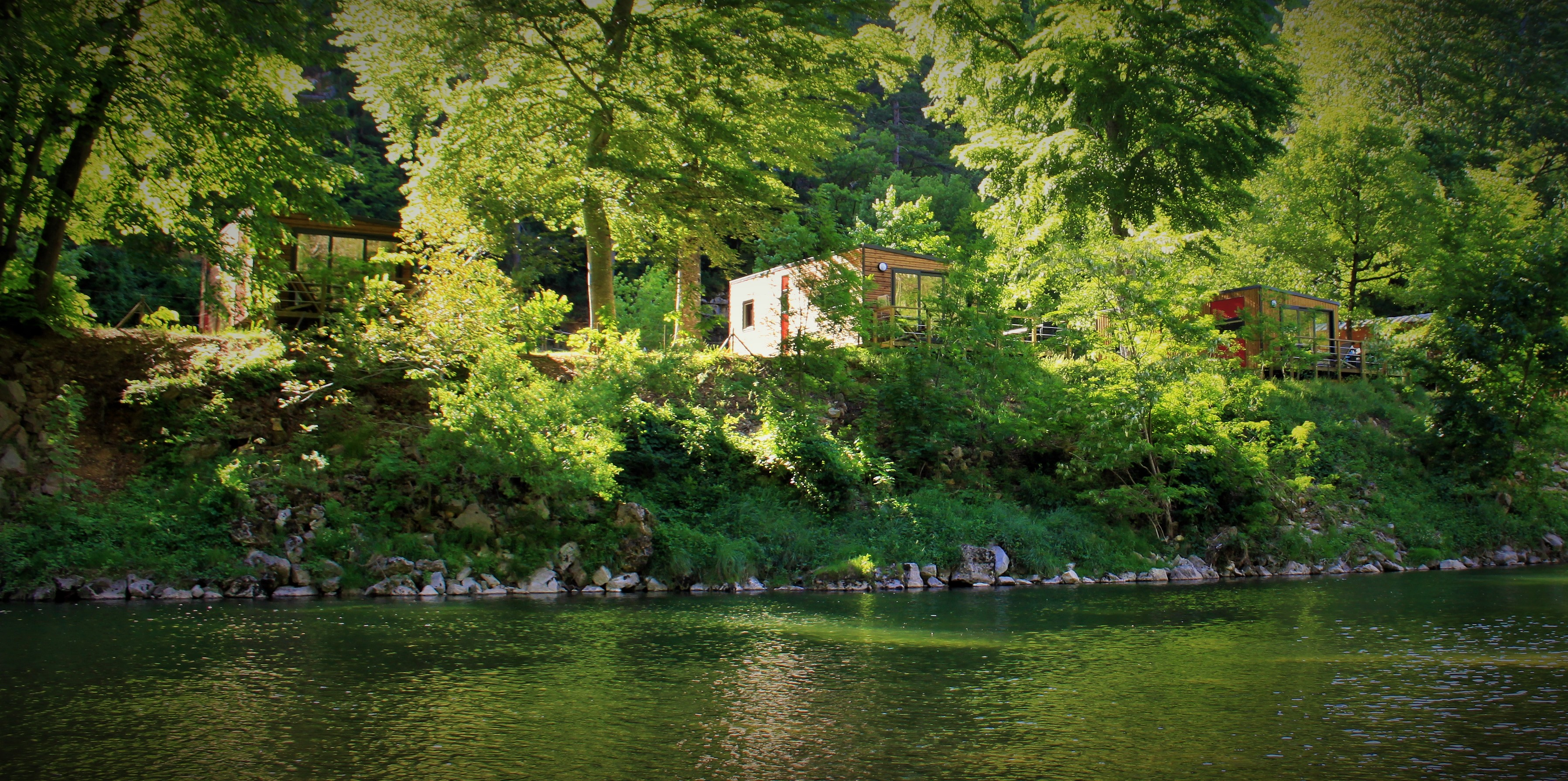Camping cevennes riviere