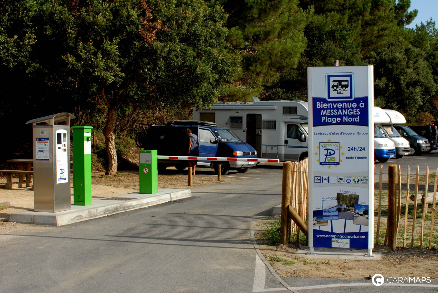 Aire camping-car park