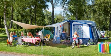 Emplacement tente camping espagne