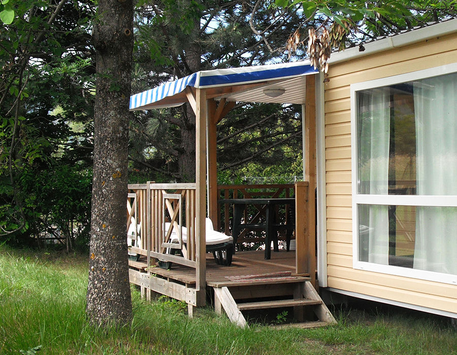 Camping embrun mobil home
