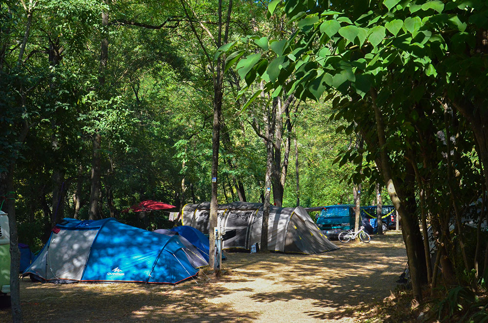 Location camping herault