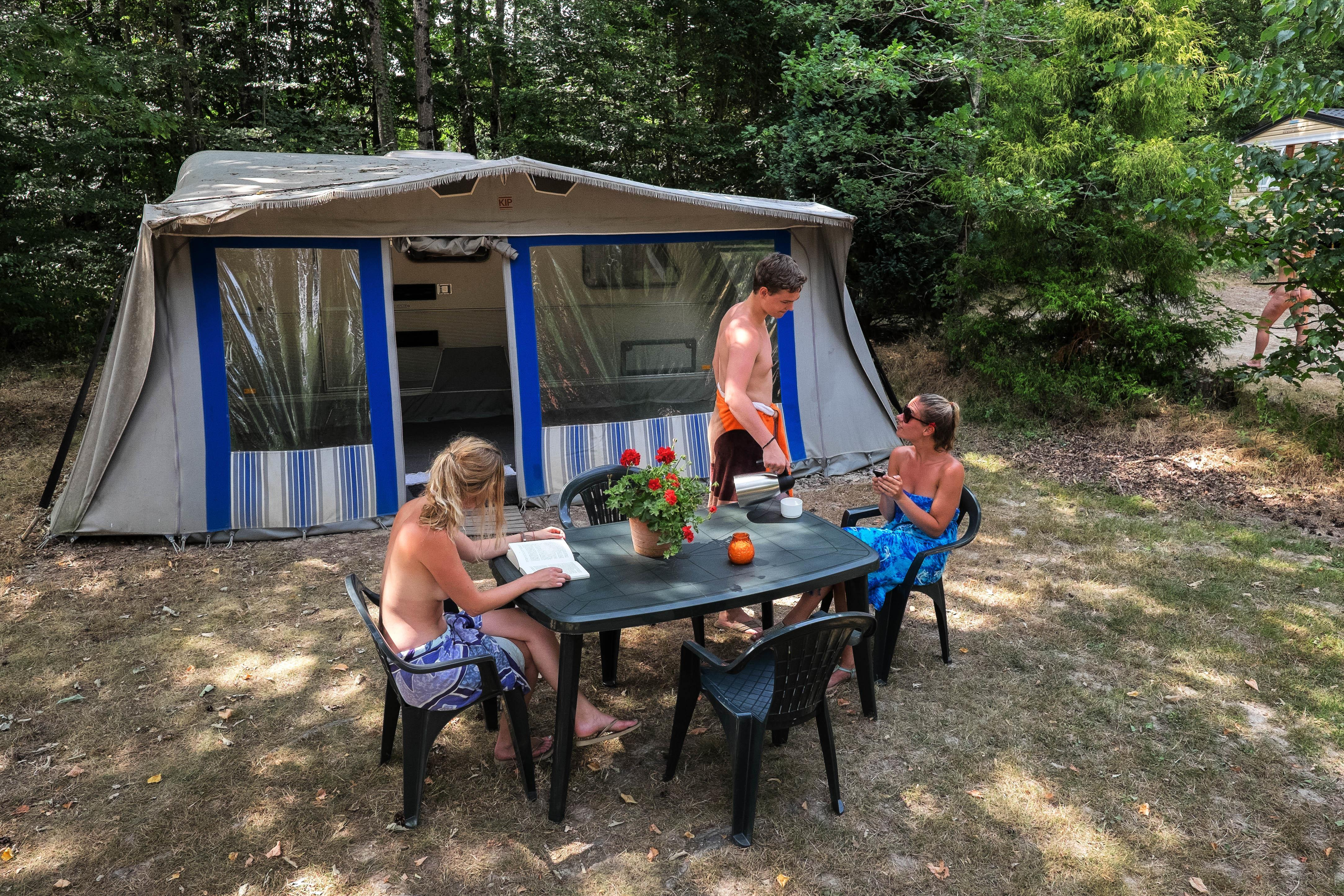 Meuble camping occasion